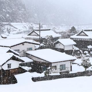 家の雪投げ、雪庇落としの予約承っております。