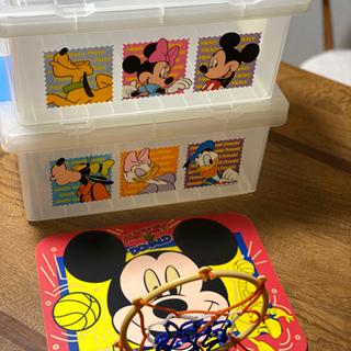 【差し上げます】ミッキーマウスBOXなど