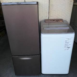 【23区送料・設置無料】⭐パナソニック洗濯機7kg+パナソニック...