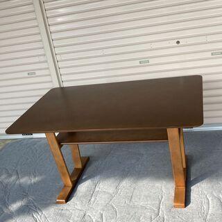 ニトリ 購入 木製 ソファーテーブル テーブル ローテーブ…