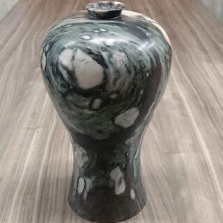 【韓国】高麗大理石壺 花瓶 サイズ/H330*W175*D…