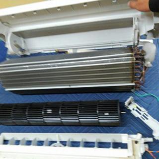 エアコンの分解洗浄