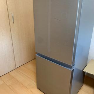 AQUA 2019年製 ノンフロン冷凍冷蔵庫 2ドア AQR-1...
