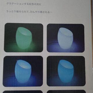新品未使用 お洒落なライト アロマ - 京都市