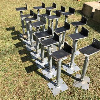 L型鋼製束17個 - 児玉郡