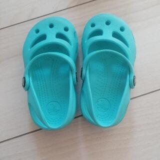【10月まで】【値下げ】子供靴 サンダル CROCS
