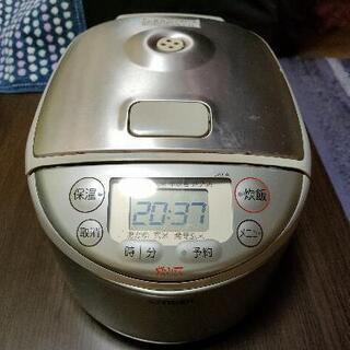 炊飯器を新しく購入したので安く御譲り宜しく。TIGER製3…