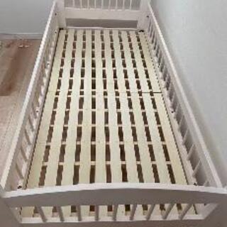 【値下げ】キッズ用2段ベッドの1段目のみ