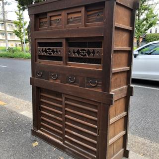 江戸時代!? 古水屋 アンティークの食器棚