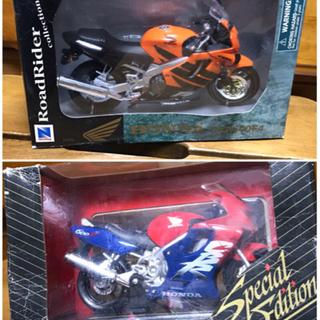 HONDA バイクプラモデル×2