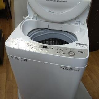 J207 ★6ヶ月保証★6K洗濯機★SHARP  ES-G…