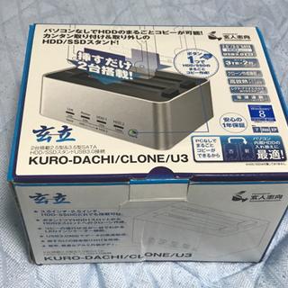 SSDクローン ほぼ未使用 玄人志向