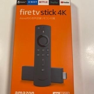 新品 未開封 fire tv stick 4K HDR ★ファイ...