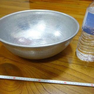アルミ製 打出し 調理用ボール ボール 36.5センチ 調…