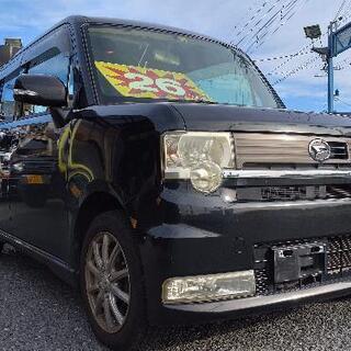 【ネット決済】21年ムーヴコンテ★カスタムX。人気のブラック車検...