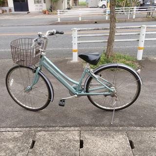 5段階変速ギア付き自転車✨ブリヂストン アルベルト✨26イ…