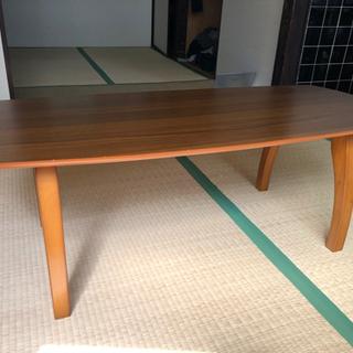 折り畳み式 木製ローテーブル