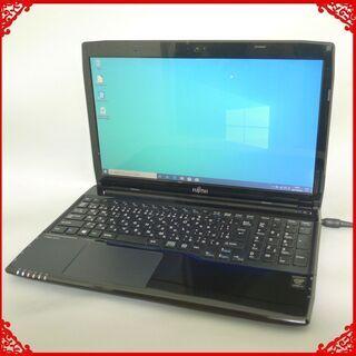新品爆速SSD ノートパソコン 中古良品 15型 FUJI…
