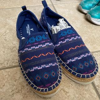 アメリカンイーグル スリッポン 靴