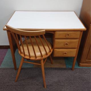 お取引き中です!勉強机 デスク テーブル 椅子セットです★