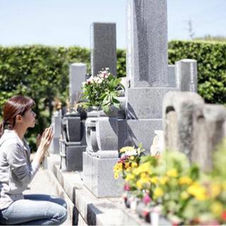 お墓参り代行(墓石清掃•周辺の雑草除去•お花、線香お供え)