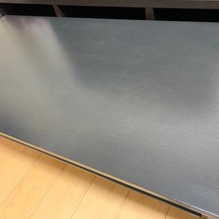 ニトリ ローテーブル   幅120 ブラック 美品