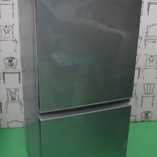 美品 19年製 アクア 2ドア 冷蔵庫 AQR-13H-S…