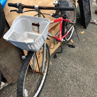 ジャンク品 26インチ 変速付きマウンテンバイク