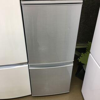 シャープ SJ-D14C-W 冷蔵庫 2017年