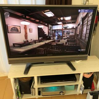 SHARP AQUOS アクオス 37インチ 美品 テレビ台セット