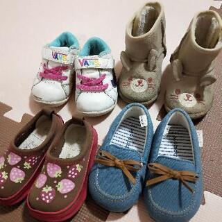 女の子 靴 13〜14cm