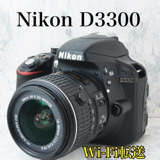 S数336回●ファミリー向け●Wi-Fi転送●ニコン D3300...
