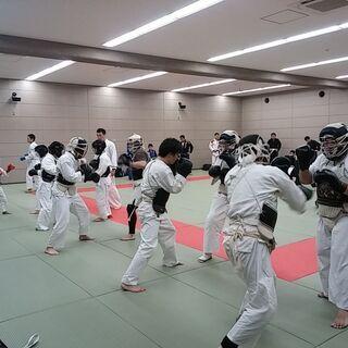 日本拳法 札幌市厚別区体育館にて開催中!