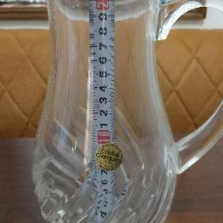 クリスタルガラス製 ピッチャー(水差し)大