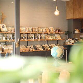 かんぶつ×カフェ 地元のあたらしいカタチの食料品店 でカフェスタ...