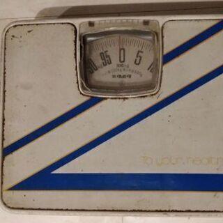 古い体重計★クボタ500g~100Kg★