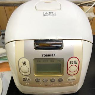 【再募集】東芝炊飯器 5.5合炊き RC-10LM
