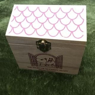 ムーミン お家型木箱