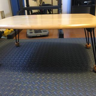 【ネット決済】木製ミニテーブル