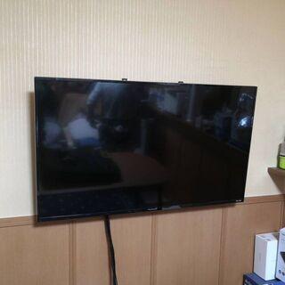 テレビ壁掛け工事!