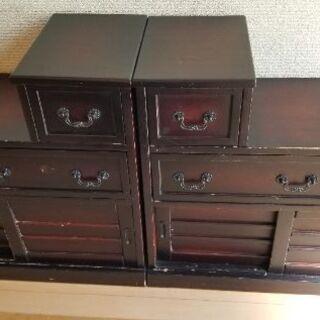 [お取り引き中]古風な収納家具