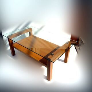 ニトリ センターテーブル ガラステーブル【自社配送は札幌市…