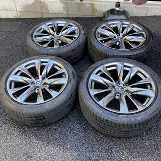レクサスLS500Fスポーツ 純正オプションタイヤ