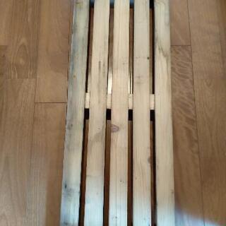 木の板(キャスター付き)