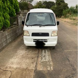 【ネット決済】車検令和4年5月31日まで サンバーバン 2WD ...