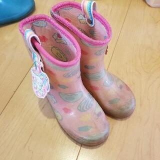 レインブーツ 長靴 16.0cm