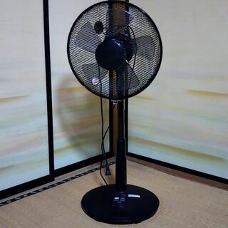 リモコン付き扇風機 タイマー・リズム・風量設定可能