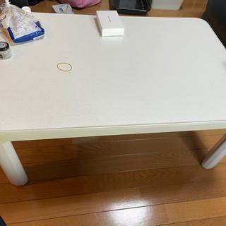 【ネット決済】こたつ機能付きテーブル!