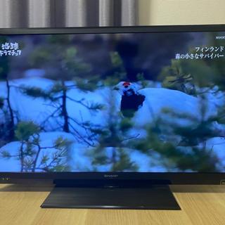 【決まりました】液晶テレビ40インチ シャープAQUOS