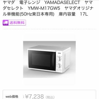 綺麗な電子レンジ ヤマダ電気 Y'S select